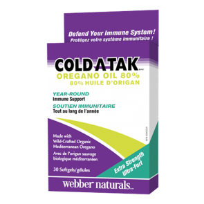 Cold-A-Tak-Oregano-Oil-Extra-Strength-80%-30-Softgels