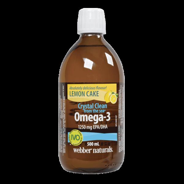 Crystal-Clean-from-the-sea-Omega-3-1250-mg-EPA-DHA-Lemon-Cake-500-mL