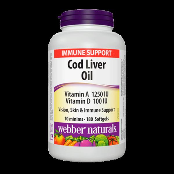 cod-liver-oil-1250-iu-100-iu-vitamin-a-and-d-180-capsules