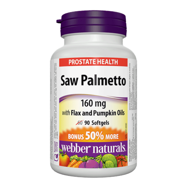saw-palmetto-160-mg-with-flax-and-pumpkin-oils-90-capsules