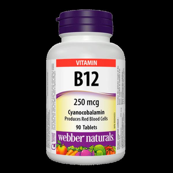vitamin-b12-250-mcg-cyanocobalamin-90-tablets