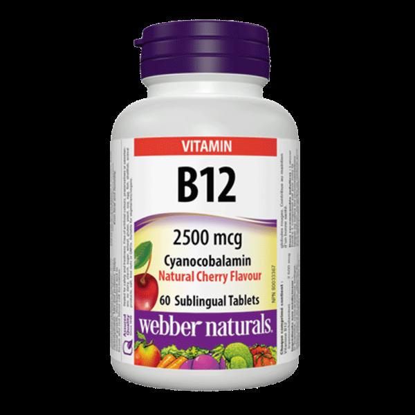 vitamin-b12-2500-mcg-cyanocobalamin-natural-cherry-60-tablets