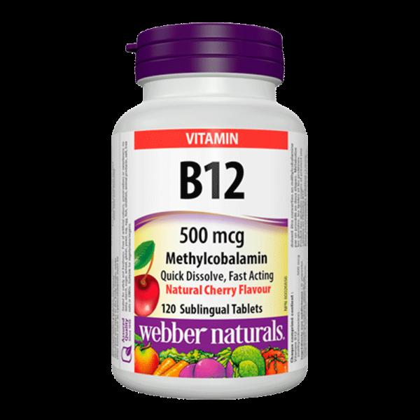 vitamin-b12-500-mcg-methylcobalamin-natural-cherry-120-tablets