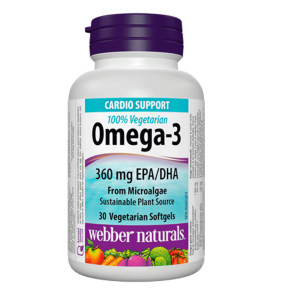 omega-3-100-vegetarian-360-mg-epa-dha-from-microalgae-30-softgels
