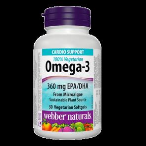 omega-3-100-vegetarian-360-mg-epa-dha-from-microalgae-30-softgels