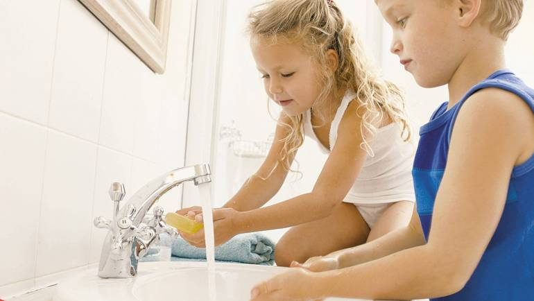 Tips: Boosting Your Child's Immune System